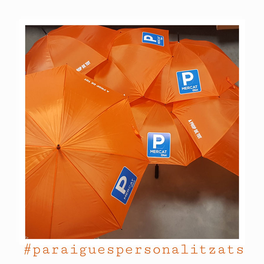 Paraigües personalitzats